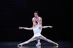 EN SOL....Choregraphie : ROBBINS Jerome..Mise en scene : ROBBINS Jerome..Compositeur : RAVEL Maurice..Compagnie : Ballet de l Opera National de paris..Decor : ERTE..Lumiere : TIPTON Jennifer..Costumes : ERTE..Avec :..DUPONT Aurelie..LE RICHE Nicolas..Lieu : Opera Garnier..Ville : Paris..Le : 21 04 2010..© Laurent PAILLIER / photosdedanse.com