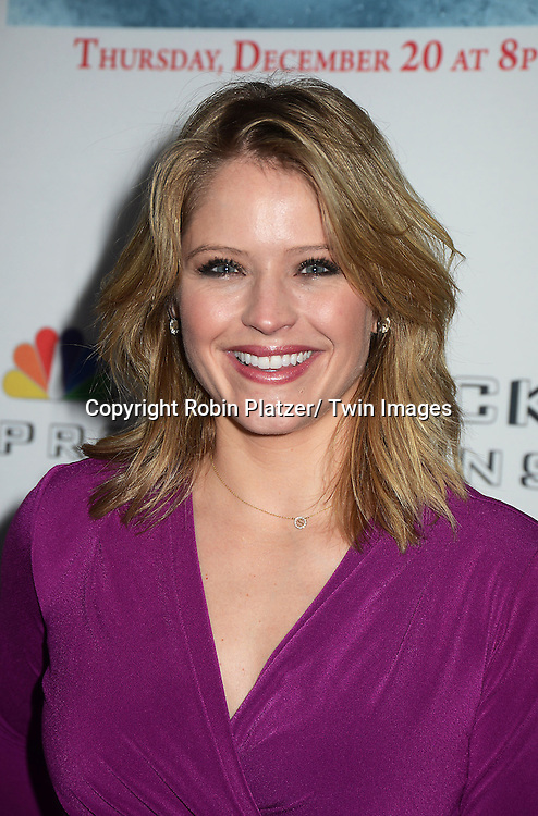 "Sara Haines attends the party for NBC's "" A White House Christmas: First Families Remember"" on December 11, 2012 at Tenjune in New York City."