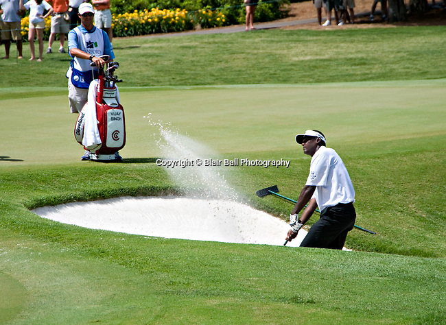 Vijay Singh at Stanford St. Jude in Memphis.