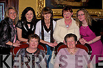 RELAXING: In arelaxing mood in the Grand Hotel, Tralee on Tuesday night as they celebrate Womens Christmas. Front l-r: Elizabet(Ardfert) and Marioe O'Sullivan (Derrymore). Back l-r: Marilyn O'Sullivan (Derrymore), Danielle O'Riordan (Ardfert), Melissa O'Riordan, Mary Daly (Spa) and Michelle O'Sullivan (Derrymore).......
