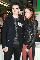 NEW YORK, NY - DECEMBER 14: Kevin Jonas and Danielle Jonas at the City Harvest Holiday Season Food Drive at FDNY Station - Lexington & 3rd Avenue on December 14, 2012 in New York City Credit: RW/MediaPunch Inc. /NortePhoto