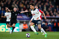 Tottenham Hotspur's Dele Alli in action     <br /> <br /> <br /> Photographer Craig Mercer/CameraSport<br /> <br /> The Premier League - Crystal Palace v Tottenham Hotspur - Wednesday 26th April 2017 - Selhurst Park - London<br /> <br /> World Copyright &copy; 2017 CameraSport. All rights reserved. 43 Linden Ave. Countesthorpe. Leicester. England. LE8 5PG - Tel: +44 (0) 116 277 4147 - admin@camerasport.com - www.camerasport.com