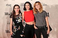"Irene Visedo and Leticia Dolera during the premiere of the film ""Tarde para la Ira"" in Madrid. September 08, 2016. (ALTERPHOTOS/Rodrigo Jimenez) /NORTEPHOTO.COM"