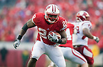 Wisconsin Badgers running back Montee Ball (28) carries the ball during an NCAA college football game against the Indiana Hoosiers on November 13, 2010 at Camp Randall Stadium in Madison, Wisconsin. The Badgers won 83-20. (Photo by David Stluka)