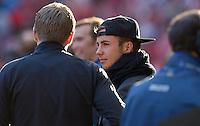 FUSSBALL  CHAMPIONS LEAGUE  SAISON 2012/2013  FINALE  Borussia Dortmund - FC Bayern Muenchen         25.05.2013 Mario Goetze (Borussia Dortmund) zu Gast im Stadion