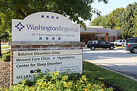 NWA Democrat-Gazette/DAVID GOTTSCHALK  The Washington Regional Center for Sleep Disorders is visible Friday, September 6, 2019,  in Fayetteville. The center has expanded from six to ten beds.