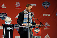 Sam Garza 6th pick of first round by San Joe Earthquakes... The 2012 MLS Superdraft was held on January 12, 2012 at The Kansas City Convention Center, Kansas City, MO.