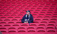 Bristol fan enjoying the pre match atmosphere<br /> Photographer Bob Bradford/CameraSport<br /> <br /> Gallagher Premiership - Bristol Bears v Sale Sharks - Friday 3rd May 2019 - Ashton Gate - Bristol<br /> <br /> World Copyright © 2019 CameraSport. All rights reserved. 43 Linden Ave. Countesthorpe. Leicester. England. LE8 5PG - Tel: +44 (0) 116 277 4147 - admin@camerasport.com - www.camerasport.com