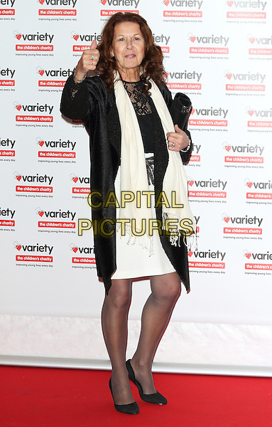 Elkie Brooks at the Variety ShowBiz Awards - annual showbiz awards and fundraiser for Variety, the Children's Charity at London Hilton on Park Lane, London 18th October 2016<br /> CAP/ROS<br /> &copy; Steve Ross/Capital Pictures