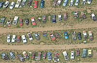 Car junkyard near Dacono, Colorado. June 2014. 85378