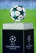 12th September 2017, Camp Nou, Barcelona, Spain; UEFA Champions League Group stage, FC Barcelona versus Juventus; New ball from Adidas for Champions League competition