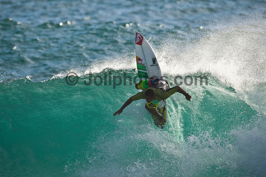 WIGGOLLY DANTAS (BRA) surfing at DURANBAH BEACH,  new South Wales, Australia ,   Photo: joliphotos.com