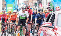 Picture by Allan McKenzie SWpix.com - 03/05/2018 - Cycling - 2018 Tour de Yorkshire - Stage 1: Beverley to Doncaster - The race rolls out from Beverley, Mark Cavendish.