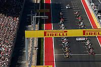 AUSTIN, TEXAS, ESTADOS UNIDOS, 18 NOVEMBRO 2012 - F1 - GP DOS EUA - Grid de largada no Grande Premio dos Estados Unidos de Formula, na cidade de Austin no Texas, neste domingo, 18. (FOTO: PIXATHLON / BRAZIL PHOTO PRESS).