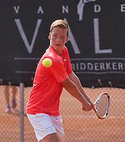 August 6, 2014, Netherlands, Rotterdam, TV Victoria, Tennis, National Junior Championships, NJK,  Stijn Janssen (NED)<br /> Photo: Tennisimages/Henk Koster