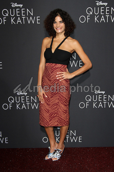 """20 September 2016 - Hollywood, California - Ashley Dyke. """"Queen Of Katwe"""" Los Angeles Premiere held at the El Capitan Theater in Hollywood. Photo Credit: AdMedia"""