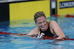 Glasgow 2014 Commonwealth Games<br /> Scotland's Hannah Miley is all smiles after winning gold in the Women's 400m Individual Medley.<br /> Tollcross Swimming Centre<br /> <br /> 24.07.14<br /> &copy;Steve Pope-SPORTINGWALES