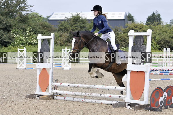 Class 3. Unaffiliated Showjumping. Brook Farm Training Centre. Essex. 10/06/2018. ~ MANDATORY Credit Garry Bowden/Sportinpictures - NO UNAUTHORISED USE - 07837 394578