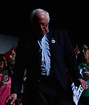 MIAMI, FL - APRIL 19: Senator Bernie Sanders (I-VT) speaks during a 'Come Together and Fight Back' tour at the James L Knight Center on April 19, 2017 in Miami, Florida. Sen. Sanders and DNC Chair Tom Perez spoke about raising the minimum wage, pay equity for women, making public colleges and universities tuition-free, comprehensive immigration reform and tax reform which demands that the wealthy and large corporations start paying their fair share of taxes. ( Photo by Johnny Louis / jlnphotography.com )