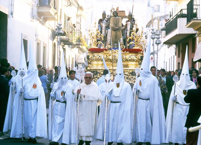 Holy Week Celebration, Jerez, Andalusia, Spain