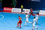 AFC Futsal Championship Chinese Taipei 2018 match between Lebanon and Jordan at  Xinzhuang Gymnasium on 06 February 2018 in Taipei, Taiwan. Photo by Marcio Rodrigo Machado / Power Sport Images