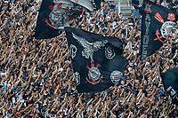 SÃO PAULO,SP,16.10.2018 - FUTEBOL-CORINTHIANS - torcedores do Corinthians durante treino na Arena Corinthians na zona leste da cidade de São Paulo, no bairro de Itaquera nesta terça-feira, 16. (Fotos: Dorival Rosa/Brazil Photo Press)