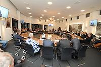 ALGEMEEN: JOURE: 01-12-2015, Instalatie Burgemeester De Fryske Marren Fred Veenstra, ©foto Martin de Jong