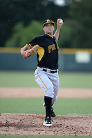 Pittsburgh Pirates pitcher Thomas Harlan (78) during an Instructional League game against the New York Yankees on September 18, 2014 at the Pirate City in Bradenton, Florida.  (Mike Janes/Four Seam Images)