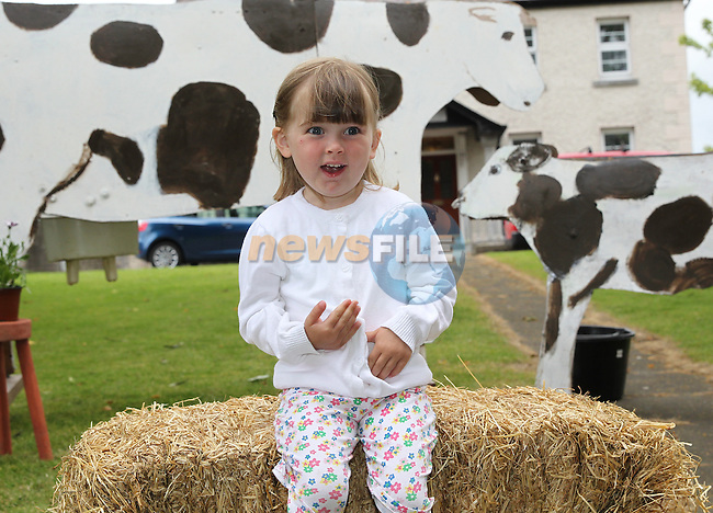 Ella McKee at the launch of the Duleek Festival on Friday night. www.newsfie.ie