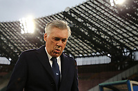 Carlo Ancelotti of Napoli ahead the Serie A 2018/2019 football match between SSC Napoli  and Spal at stadio San Paolo, Napoli, December 22, 2018 <br />  Foto Cesare Purini / Insidefoto