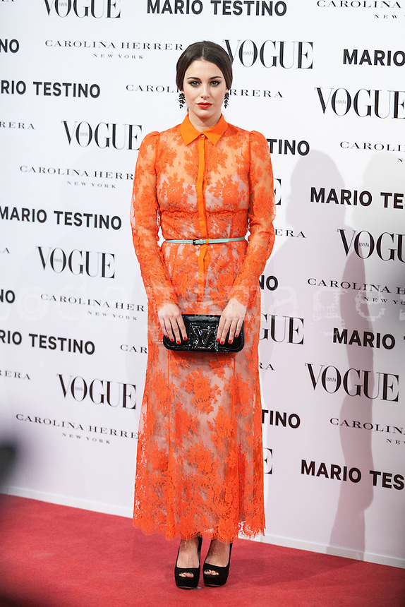Blanca Suarez at Vogue December Issue Mario Testino Party