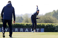 Steven Finn of Middlesex warms-up prior to Middlesex vs Essex Eagles, Royal London One-Day Cup Cricket at Radlett Cricket Club on 17th May 2018