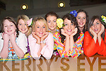 REHEARSALS: The girls of Mercy Mounthawk Secondary School at rehearsals for their forthcoming Musical South Pacific on Saturday were l-r: Rosie O'Dowd, Sinead Reidy, Sinead Boyle, Molly McGilton, Aisling Murphy, Niamh Fitzgerald and Katie Guinan.   Copyright Kerry's Eye 2008