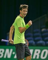 09-02-2014, Netherlands,Rotterdam,Ahoy, ABNAMROWTT,  Sergiy Stakhovsky<br /> Photo:Tennisimages/Henk Koster