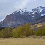 Idaho, South central, Sun Valley. The boulder mountains in autumn.