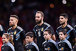 Gonzalo Higuain of Argentina (C) during the International Friendly 2018 match between Spain and Argentina at Wanda Metropolitano Stadium on 27 March 2018 in Madrid, Spain. Photo by Diego Souto / Power Sport Images
