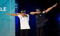 Simona Quadarella and Alice Mizzau<br /> 400 freestyle women<br /> day 02  09-08-2017<br /> Energy For Swim<br /> Rome  08 -09  August 2017<br /> Stadio del Nuoto - Foro Italico<br /> Photo Deepbluemedia/Insidefoto