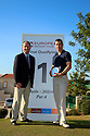 David James (SCO) winner, with Andy Stubbs, Managing Director of the European Senior Tour  after the final round of the European Senior Tour Qualifying School Finals played at Pestana Pinta Resort on 31st January 2013 in Carvoeiro, Algarve, Portugal. (Picture Credit / Phil Inglis)