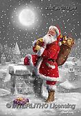 Marcello, CHRISTMAS SANTA, SNOWMAN, WEIHNACHTSMÄNNER, SCHNEEMÄNNER, PAPÁ NOEL, MUÑECOS DE NIEVE, paintings+++++,ITMCXM2062/BW,#X#