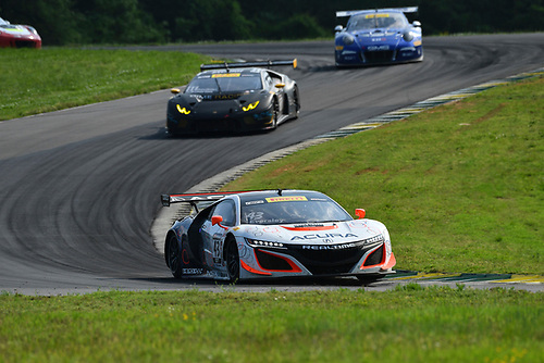 Pirelli World Challenge<br /> Grand Prix of VIR<br /> Virginia International Raceway, Alton, VA USA<br /> Saturday 29 April 2017<br /> Ryan Eversley/ Tom Dyer<br /> World Copyright: Richard Dole/LAT Images<br /> ref: Digital Image RD_PWCVIR_17_232