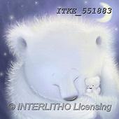 Isabella, CHRISTMAS ANIMALS, WEIHNACHTEN TIERE, NAVIDAD ANIMALES,ice bear paintings+++++,ITKE551883,#XA#