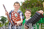 CHAMPIONS: Lispole brothers, Máirtín and Proinnsias Ó Cathasaigh who won 11 medals between them at the Munster Fleadh Cheoil in Dungarvan.