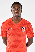 SAN PEDRO DEL PINATAR, SPAIN - MARCH 2019: U.S. Soccer USMNT U-23 Portraits & Lifestyles.