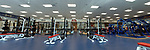 Indoor Practice Facility Weight Room. Photo by Nathan Latil/Ole Miss Communications