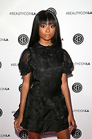 LOS ANGELES, CA - AUGUST 10: Skai Jackson, at Beautycon Festival Los Angeles 2019 - Day 1 at Los Angeles Convention Center in Los Angeles, California on August 10, 2019.  <br /> CAP/MPI/SAD<br /> ©SAD/MPI/Capital Pictures