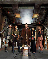 Serenity (2005) <br /> Adam Baldwin, Gina Torres, Morena Baccarin, Alan Tudyk &amp; Nathan Fillion<br /> *Filmstill - Editorial Use Only*<br /> CAP/KFS<br /> Image supplied by Capital Pictures