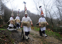 Ancient carnival in Ituren 2014