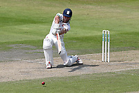 Alastair Cook in batting action for Essex during Lancashire CCC vs Essex CCC, Specsavers County Championship Division 1 Cricket at Emirates Old Trafford on 10th June 2018