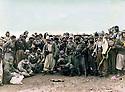 Iraq 1985 <br /> MullazemOmar Abdallah with peshmergas after the battle of Daban <br /> Irak 1985 <br /> Mullazem Omar Abdallah avec un groupe de peshmergas apres la bataille de Daban