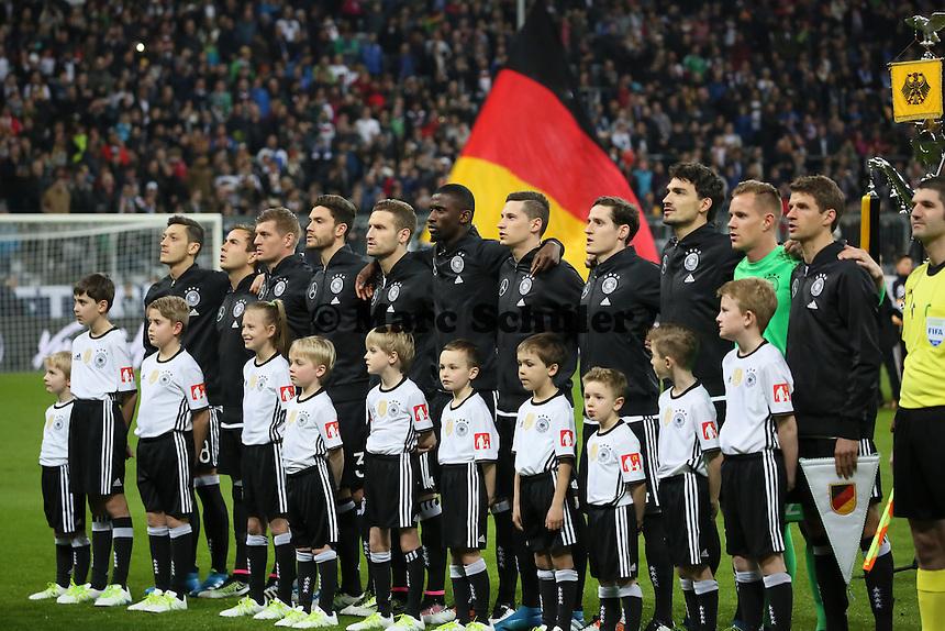 Deutsche Nationalmannschaft stellt sich auf - Deutschland vs. Italien, Allianz Arena München